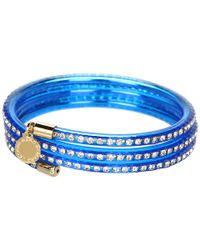 Marc By Marc Jacobs | Blue Slinky Bangle | Lyst