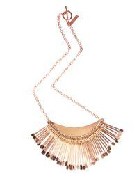 MINKPINK - Pink Sunrise Necklace - Lyst