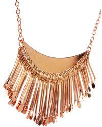MINKPINK | Pink Sunrise Necklace | Lyst