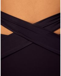 Mouille' - Black High Waisted Wrap Bikini Bottom - Lyst
