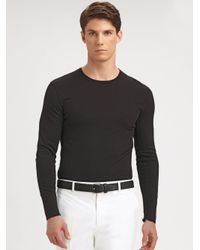 Ralph Lauren Black Label | Black James Stretch Cotton Pant for Men | Lyst
