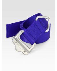 Lyst - RLX Ralph Lauren Nylon Web Belt in Blue for Men d59fb30b7a8