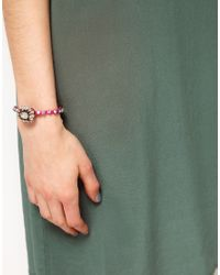 Shourouk - Pink Baraka Bracelet - Lyst