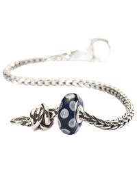 Trollbeads | Blue Luck & Joy Charm Bead And Bracelet | Lyst