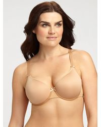 Chantelle | Natural Invisible Memory Foam T-shirt Bra | Lyst