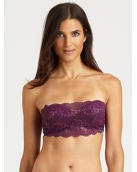 Cosabella - Blue Never Say Never Flirtie Bandeau Bra Never1102 - Lyst