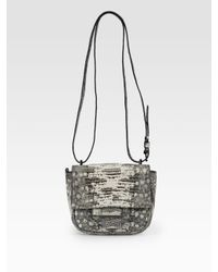 Reed Krakoff | Gray Tejus Mini Shoulder Bag | Lyst