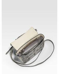 Reed Krakoff - Gray Tejus Mini Shoulder Bag - Lyst