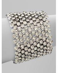 Michael Kors | Metallic Sparkling Paveacute Stretch Bracelet | Lyst