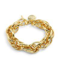 1AR By Unoaerre - Metallic Rope Link Bracelet - Lyst