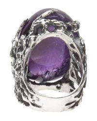 Mateo Bijoux - Purple Exotica Ring - Lyst