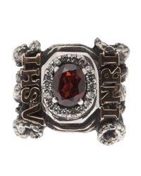 KD2024 | Metallic Inri Ring | Lyst