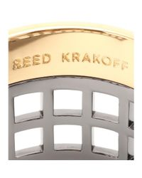 Reed Krakoff | Metallic Machine Narrow Cuff Bracelet | Lyst