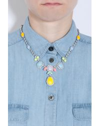 Tom Binns - Multicolor Pastel Multi Color Necklace - Lyst