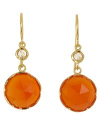 Irene Neuwirth | Orange Gemstone Double | Lyst
