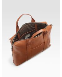 Jack Spade | Brown Mill Leather David Brief for Men | Lyst