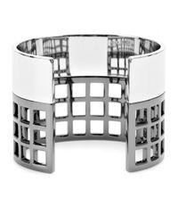 Reed Krakoff - Metallic Machine Narrow Cuff Bracelet - Lyst
