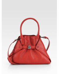 Akris | Red Little Ai Convertible Tote | Lyst
