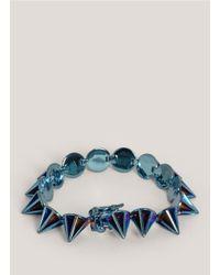 Eddie Borgo - Blue Lotus Cone Bracelet - Lyst
