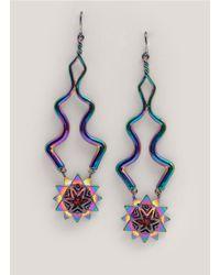 Eddie Borgo | Metallic Eve Earrings | Lyst
