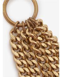 Ela Stone | Metallic Chain-tassel Earrings | Lyst