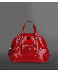 Emporio Armani | Red Top Handle | Lyst