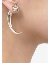 Givenchy - Metallic Star-studded Shark Magnetic Single Earring - Lyst