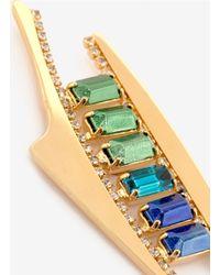 Iosselliani | Multicolor Bronzed-stone Earrings | Lyst