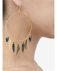 Iosselliani | Multicolor Deep Sea Hoop Earrings | Lyst