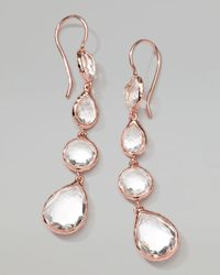 Ippolita | Multicolor Rose Rock Candy Multi-Shape Drop Earrings | Lyst