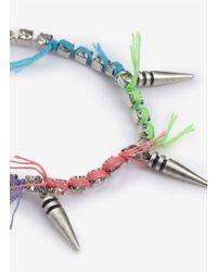 Joomi Lim - Multicolor Spike And Thread Bracelet - Lyst