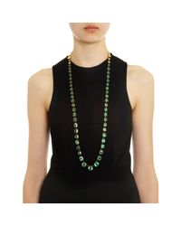 Judy Geib - Green Colombian Emerald Operalength Riviere - Lyst