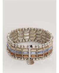 Philippe Audibert | Multicolor Three-row Stone Bracelet | Lyst