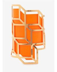Pierre Hardy | Orange Neon Geometric Cuff | Lyst
