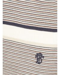Tory Burch - Multicolor Geoff Striped Cardigan - Lyst