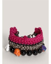 Venessa Arizaga - Pink 'khalo' Bracelet - Lyst