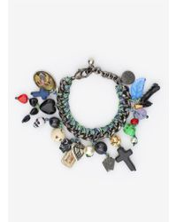 Venessa Arizaga - Multicolor 'once In A Blue Moon' Bracelet - Lyst