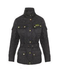 Barbour | Black International Quilt Jacket | Lyst