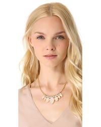 Club Monaco - Pink Opal Statement Necklace - Lyst