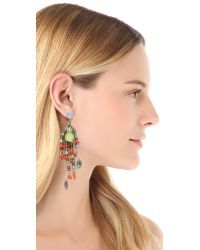 Erickson Beamon - Metallic 'Weve Got The Power' Earrings - Lyst