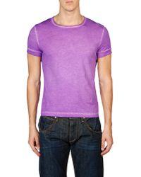 Gentry Portofino - Purple Short Sleeve T-shirt for Men - Lyst