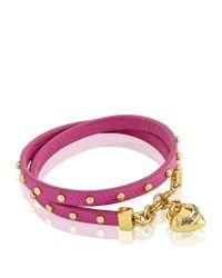 Juicy Couture | Purple Double Wrap Stud Bracelet | Lyst