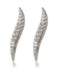 Swarovski | Metallic Aline Crystal Earrings | Lyst