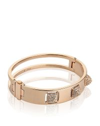 Swarovski | Pink Tactic Bangle | Lyst