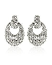 Swarovski | Metallic Rarely Earrings | Lyst