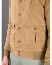 Unfleur - Natural Monsieur Bomber Jacket for Men - Lyst