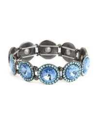 BaubleBar - Blue Large Pavé Links - Lyst