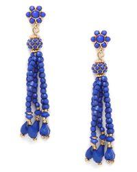 BaubleBar | Blue Tassel Drops | Lyst