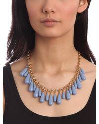 BaubleBar - Blue Peri Tear Fringe Necklace - Lyst