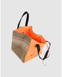 Carmina Campus - Orange Medium Fabric Bag - Lyst